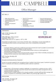 office manager resume   best samplesoffice manager resume