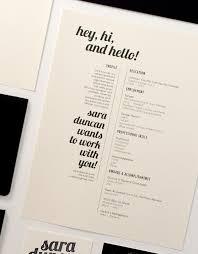 beautiful résumé designs you    ll want to stealthe black  white  and mini st résumé