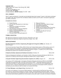 for detailed resume in ms word format click here