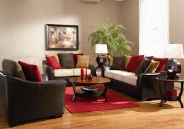 fascinating craftsman living room chairs furniture: amusing leather furniture and modern table lamp with