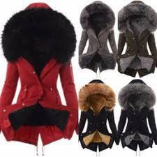 <b>S</b>-<b>3XL</b> Plus Size Winter Warm Cotton Jacket <b>Women</b> Big Fur <b>Hoodie</b> ...