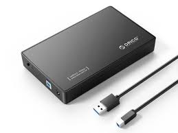 <b>ORICO</b> External <b>Hard Drive Enclosure</b>, USB 3.0 SuperSpeed, for 3.5 ...