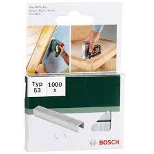 <b>Скобы Bosch</b> для строительного <b>степлера</b>, тип T53, 6 мм, 1000 шт
