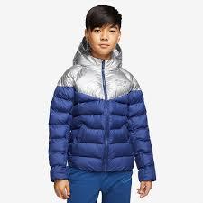 Nike <b>CR7</b> Kids <b>Jacket</b> - Blue Void/Metallic Silver/Hyper Jade - Boys ...