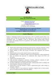 shahid resume for land surveyor 2
