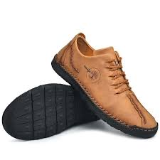 SGAM <b>Men</b> Vintage <b>Style</b> Leather Shoes Lace Up Soft Hand ...