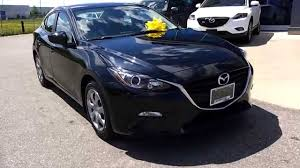 Black Mazda 3 2014 Mazda3 Sedan Gx In Jet Black Mica Youtube
