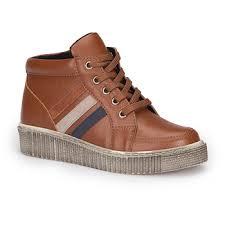 FLO 72.509759.F Brown Male Child Sneaker Shoes Polaris - купити ...