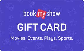 Discounted Gift Cards– BookMyShow