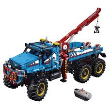 <b>Конструктор LEGO Technic Аварийный</b> внедорожник 6х6 (42070 ...