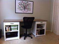 office desk do it yourself home projects from ana white ana white completed eco office desk