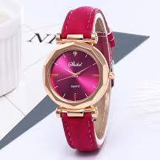 Online Shop Luxury Rose Gold <b>Women Watches</b> Minimalism Starry ...