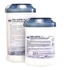Sani-Cloth AF3 Germicidal <b>Disposable</b> Wipes - <b>6x6</b>.75