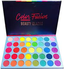 Beauty Glazed <b>39</b> Colors <b>Eyeshadow</b> Powder <b>Palette</b> Glitter Shiny ...