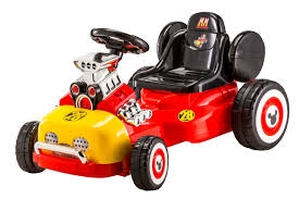 <b>Disney Mickey Mouse</b> Roadster Racer Go-Kart – Kid Trax