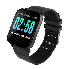 Ataliqi <b>A6 Smart Watch Heart</b> Rate Monitor Sport Fitness Tracker ...