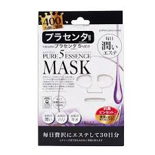 <b>Japan Gals</b> Pure 5 Essence Facial Mask Placenta PL 30 Sheets ...