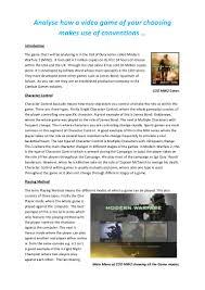 games essay