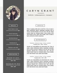 amazing resume templates to get noticed by recruiterscv template word