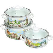 <b>Набор эмалированной посуды</b> Керченский металлургический ...