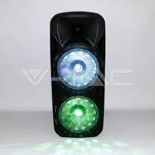 Speakers: 150W <b>Rechargeable</b> Trolley Speaker <b>Wireless</b> Wired ...