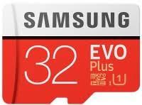 Samsung EVO Plus 100 Mb/s <b>microSDHC</b> UHS-I U1 32 ГБ (MB ...