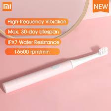 <b>Xiaomi Mijia T100 Sonic</b> Electric Toothbrush Adult Ultrasonic ...