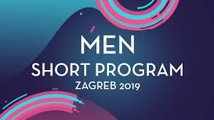 Stephen Gogolev (CAN) | <b>Men Short</b> Program | Zagreb <b>2019</b> ...