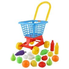 Игровой набор <b>Полесье Тележка Supermarket</b> с набором продуктов