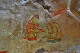 Image result for demoiselles de sigiriya