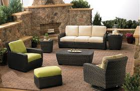 image of modern outdoor patio furniture sets black outdoor balcony furniture