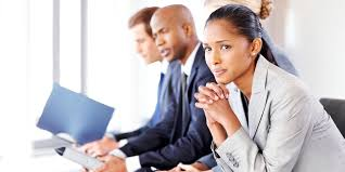 tips you should follow when negotiating a salary raise business people waiting nervously