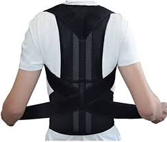 Adjustable Back Support Posture Corrector Brace ... - Amazon.com