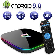 Q PLUS <b>Android 9.0 TV</b> BOX 4GB RAM: Amazon.co.uk: Electronics
