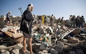Image result for SAUDI KING YEMEN WAR CARTOON