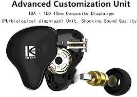 <b>KBEAR KS2</b> IEM 1BA 1DD Stereo in Ear Headphone, Yinyoo HiFi ...