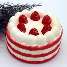 <b>Squishy Toy Slow Rising</b> Cute Strawberry Cake Kawaii Toy PU ...