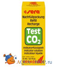 Реактив для теста <b>Sera</b> CO2 15 мл | Тесты | Аквариумный ...