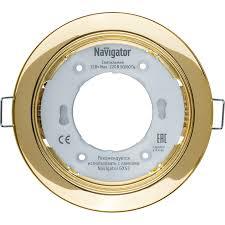 <b>Светильник Navigator</b> 71 278 NGX-R1-002-<b>GX53 золото</b> - 97 руб.