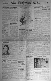 index of s r z from the 1956 bridgeport index newspaper taylor debra lou daughter born to mr mrs a e taylor 1956 11 16 pg01