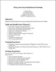 entry level resume template com entry level resume template trainind experience and working