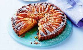 Dine like a lord! <b>Frangipane</b> tart with lemon pastry and apples | Daily ...