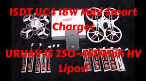 <b>ISDT UC4 18W 4X1.5A</b> 1S Mini Smart Charger Review And URUAV ...