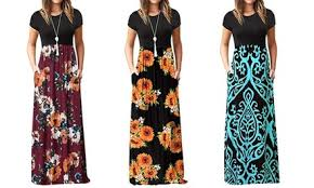 Up To 82% Off on 2019 <b>Women Short Sleeve Loose</b>... | Groupon ...