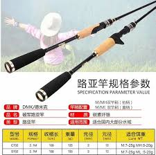 DMK NEW Casting/Spinning Fishing Rod <b>2</b> Section <b>2 Tips</b> M/ML/M ...