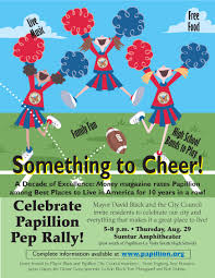 e gov services city of papillion pdf 1 078 kb middot pep rally flyer