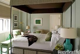 Modern Traditional Green Bedroom  M