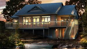 Beaver Homes and Cottages   Petit SoleilExterior Rendering