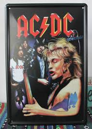office man cave album pcs lot metal sign shabby chic the acdc bands man cave bar house offic