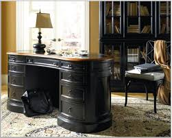 home office design idea with black desk white lamp and chair seat black desks for home office
